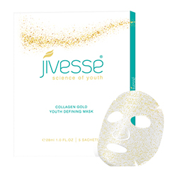 Jivesse Gold Collagen Face Masks